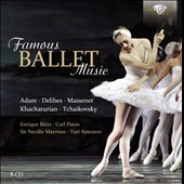 Famous Ballet Music - works by Adam, Delibes, Massenet, Khachaturian, Tchaikovsky