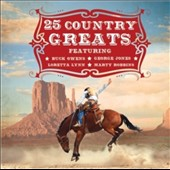 Various Artists: 25 Country Greats