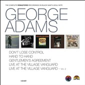George Adams: The Complete Remastered Recordings On Black Saint & Soul Note [Box]