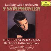 Beethoven: 9 Symphonien / Karajan, Berlin Philharmoniker