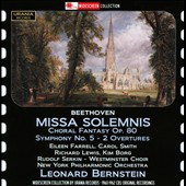 Beethoven: Missa Solemnis; Choral Fantasy, Op. 80; Symphony No. 5 / Eileen Farrell, Carol Smith, Richard Lewis, Kim Borg, Rudolf serkin