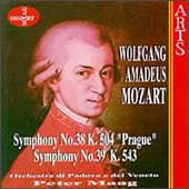 Mozart: Symphonies no 38 & 39 / Maag, Padova e del Veneto