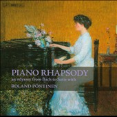 Piano Rhapsody: An Odyssey from Bach to Satie with Roland Pöntinen, piano [4 CDs]