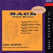 The Classic Sound - Bach: Organ Recital / Karl Richter