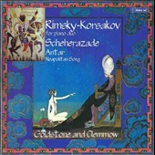 Rimsky-Korsakov for Piano Duo: Scheherazade; Antar; Neapolitan Song / Goldstone and Clemmow, pianists