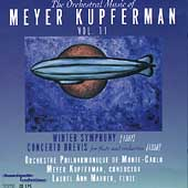 The Orchestral Music of Meyer Kupferman Vol 11