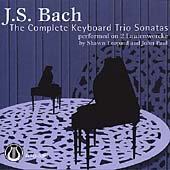 Bach: The Keyboard Trio Sonatas / Shawn Leopard, John Paul