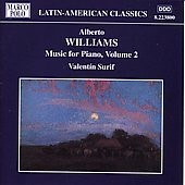 Latin-American Classics - A. Williams: Music for Piano Vol 2