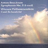 Bruckner: Symphony no 3 / Schuricht, Vienna Philharmonic