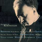 Rubinstein Collection Vol 11 - Beethoven, Villa-Lobos, et al