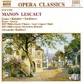 Puccini: Manon Lescaut / Rahbari, Gauci, kaludov, Sardinero