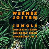 Josten: Jungle, Concerto Sacro, Symphony in F