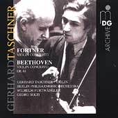 Archive - Fortner, Beethoven: Violin Concertos / Taschner
