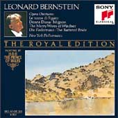 The Royal Edition - Opera Overtures / Bernstein