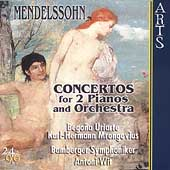 Mendelssohn: Concertos for 2 Pianos / Wit, Mrongovius, et al