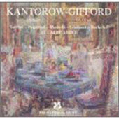 Paganini, et al: Violin Sonatas, etc / Kantorow, Gifford
