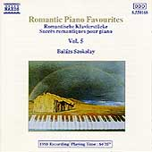 Romantic Piano Favourites Vol 5 / Balázs Szokolay