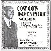 Cow Cow Davenport: Complete Recorded Works, Vol. 3