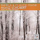 Schubert: Works for Violin & Piano / Pamela & Claude Frank