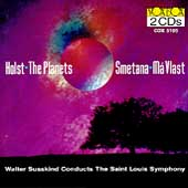 Holst: The Planets;  Smetana: Má Vlast / Susskind, St. Louis