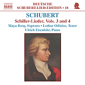 Deutsche Schubert-Lied-Edition 18 - Schiller-Lieder Vol 3&4