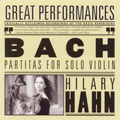 Bach: Partitas for Solo Violin / Hilary Hahn