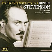 The Transcendental Tradition / Ronald Stevenson