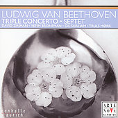 Beethoven: Triple Concerto, Septet /Shaham, Bronfman, Zinman