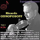 Legendary Treasures - Ricardo Odnoposoff Vol. 1