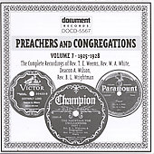 Various Artists: Preachers and Congregations, Vol. 7: 1925-1928