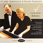 Four Hand Reflections - Mozart, etc / Aebersold, Neiweem