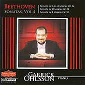 Beethoven: Sonatas Vol 4 / Garrick Ohlsson