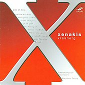 Xenakis Edition Vol 8 - Kraanerg / Drury, Teige, Callithumpian Consort