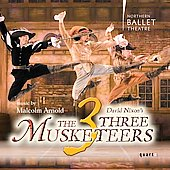 Arnold/Longstaff: The Three Musketeers / Pryce-Jones, Northern Ballet Theater Orchestra