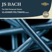 Bach: The Well-Tempered Clavier / Vladimir Feltsman