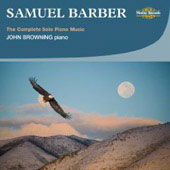 Barber: The Complete Solo Piano Music / John Browning