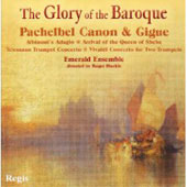 The Glory of the Baroque / Roger Huckle, Emerald Ensemble