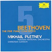 Beethoven: The Five Piano Concertos / Mikhail Pletnev