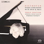 Beethoven: Piano Concerto No. 4; Piano Concerto in D, Op. 61