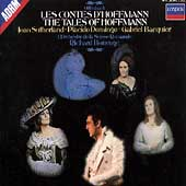 Offenbach: Contes d'Hoffmann / Bonynge, Sutherland, Domingo