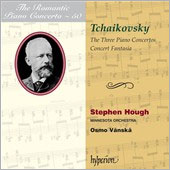 Tchaikovsky: The Three Piano Concertos / Stephen Hough