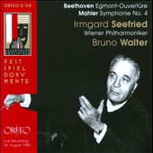 Beethoven: Egmont Ouvert&uuml;re; Mahler: Symphony No. 4 / Bruno Walter