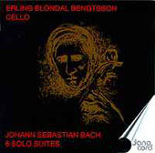 Bach: Suites for Solo Cello / Erling Blondal Bengtsson
