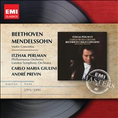 Beethoven, Mendelssohn: Violin Concertos / Itzhak Perlman, violin