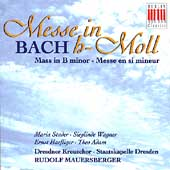 Bach: Messe in h-Moll / Mauersberger, Stader, Wagner, et al