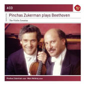 Pinchas Zukerman Plays Beethoven: The Violin Sonatas / Marc Neikrug, piano [4 CDs]