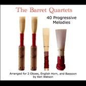 The Barret Quartets: 40 Progressive Melodies
