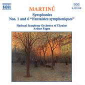 Martinu: Symphonies no 1 & 6 / Fagen, Ukrainian National SO