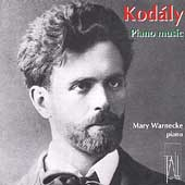 Kod&#225;ly: Piano Works / Mary Warnecke