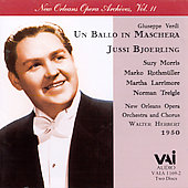 Verdi: Un Ballo in Maschera / Herbert, Bj&#246;rling, et al